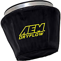 1-4002 Pre-Filter - Black, Silicone treated polyester, Universal, Sold individually