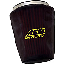 1-4003 Pre-Filter - Black, Silicone treated polyester, Universal, Sold individually