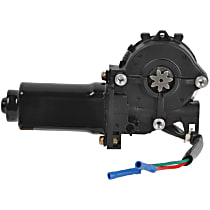 Window Motor, New Front, Driver Side