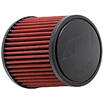 21-2011DK Universal Air Filter - Red, Synthetic, Washable, Universal, Sold individually