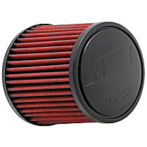 AEM Air 21-2011DK Universal Air Filter - Red, Synthetic, Washable, Universal, Sold individually