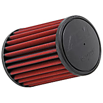 21-2027D-HK Universal Air Filter - Red, Synthetic, Washable, Universal, Sold individually