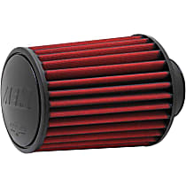 AEM Air 21-2027DK Universal Air Filter - Red, Synthetic, Washable, Universal, Sold individually