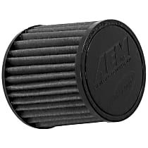 AEM Air 21-202BF-OS Universal Air Filter - Gray, Synthetic, Washable, Universal, Sold individually