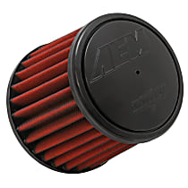 AEM Air 21-2031D-HK Universal Air Filter - Red, Synthetic, Washable, Universal, Sold individually