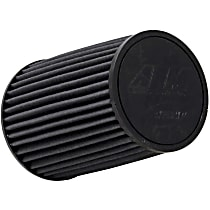 AEM Air 21-2038BF Universal Air Filter - Gray, Synthetic, Washable, Universal, Sold individually
