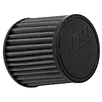 AEM Air 21-203BF-OS Universal Air Filter - Gray, Synthetic, Washable, Universal, Sold individually