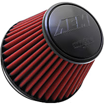 AEM Air 21-209EDK Universal Air Filter - Gray, Synthetic, Washable, Universal, Sold individually