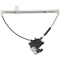 Power Window Regulator, With Motor