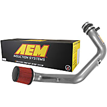 AEM Air 21-822C Cold Air Intake, Synthetic Dry Filter, Gunmetal Gray Aluminum Tubing, Sold Individually