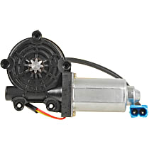 Front or Rear, Driver Side Window Motor, New