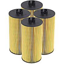 Oil Filter - Canister, Direct Fit, Set of 4