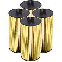 aFe 44-LF003-MB Oil Filter - Canister, Direct Fit, Set of 4