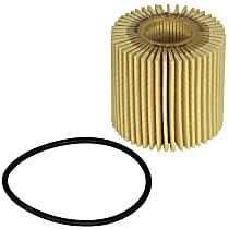 aFe 44-LF035-MB Oil Filter - Cartridge, Direct Fit, Set of 4