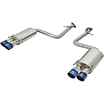 49-36037-L Power Takeda Series - 2015-2020 Lexus Axle-Back Exhaust System - Made of Stainless Steel