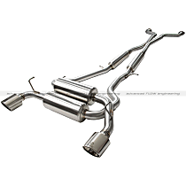 Takeda by aFe Power - 2008-2015 Infiniti Cat-Back Exhaust System - Made of Stainless Steel