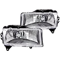 111021 Driver and Passenger Side Headlight, With bulb(s)