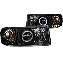 111196 Driver and Passenger Side Headlight, With bulb(s)