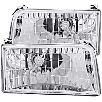 111247 Driver And Passenger Side Halogen Headlight, With bulb(s)