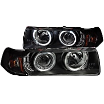 121325 Driver and Passenger Side Headlight, With bulb(s)