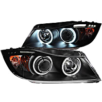 121335 Driver and Passenger Side Halogen Headlight, With bulb(s)