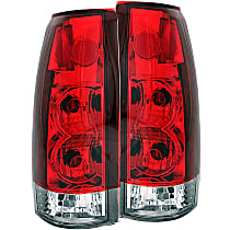 Tail Light, With bulb(s)