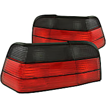 221199 Driver and Passenger Side Tail Light, Without bulb(s)