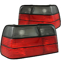 221200 Driver and Passenger Side Tail Light, Without bulb(s)
