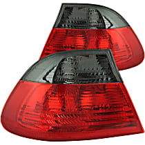 221202 Driver and Passenger Side Tail Light, Without bulb(s)