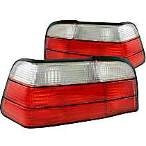 221215 Driver and Passenger Side Tail Light, Without bulb(s)