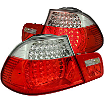 321105 Driver and Passenger Side Tail Light, With bulb(s)