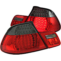 321186 Driver and Passenger Side, Inner and Outer Tail Light, With bulb(s)