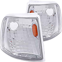 Driver and Passenger Side Corner Light, With bulb(s)