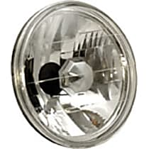 841002 Headlight Conversion Kit - Clear Lens; Chrome Interior, Sealed beam, Semi-Universal, Sold individually