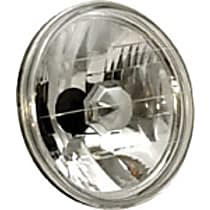 Headlight Conversion Kit - Clear Lens; Chrome Interior, Sealed beam, Semi-Universal, Sold individually
