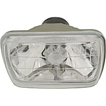 Halogen Headlight, With bulb(s)