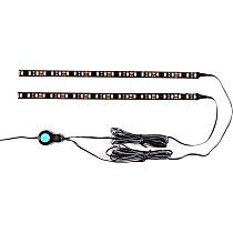 861121 Strip Light - Clear Lens; Black Housing