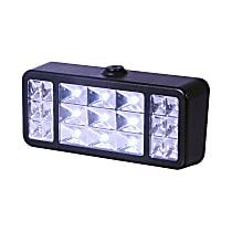 861138 Worklight - Clear Lens; Black Housing