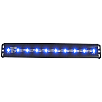 861150 LED Light Bar - Black, 2 in., Sold individually