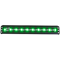 861151 LED Light Bar - Black, 2 in., Sold individually