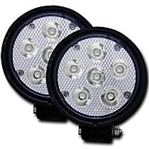 881002 Offroad Light - Black, Plastic lens, Set of 2
