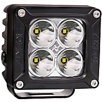881045 Offroad Light - Black, Aluminum, Sold individually
