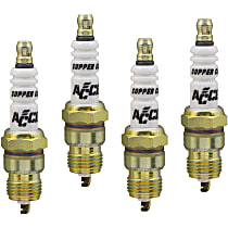 Accel C-Cut Shorty Spark Plug, Set of 4