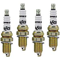 Accel C-Cut Shorty Spark Plug, Set of 4