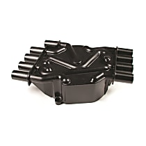 120141 Distributor Cap - Black, Direct Fit, Sold individually