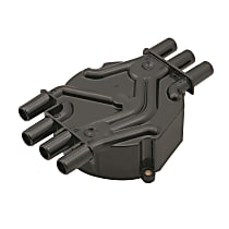 120142 Distributor Cap - Black, Direct Fit, Sold individually