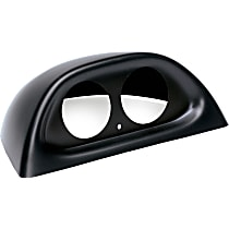 10001 Gauge Pod - Black, Direct Fit, Sold individually