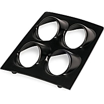 10002 Gauge Pod - Black, Direct Fit, Sold individually