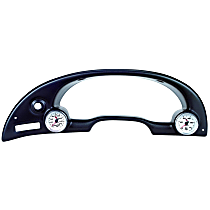 10003 Gauge Pod - Black, Plastic, Direct Fit, Sold individually