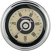 Autometer 1152 Oil Pressure Gauge - Electric Digital Stepper Motor, Universal, Sold individually